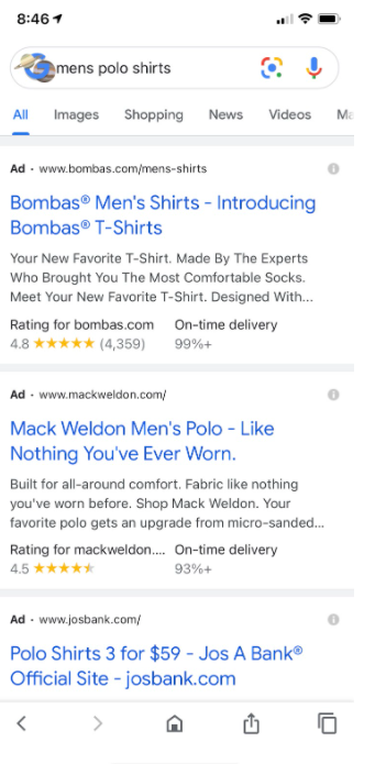 Search Engine Saturation - Google Shopping moves from paid to free