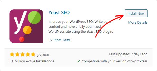 Creating an XML sitemap using the Yoast plugin