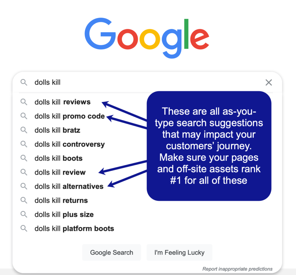 Ecommerce sales funnel optimization tips - Rank for branded search queries