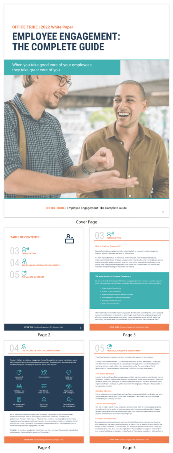 content creation for your agency lead generation white paper