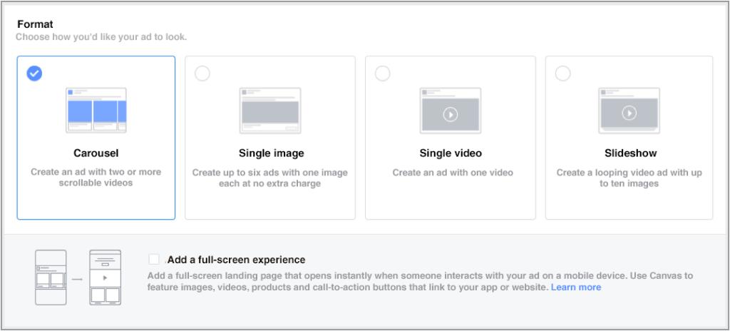 Digital marketing strategies to convert bottom-funnel prospects - Retarget ads Facebook model
