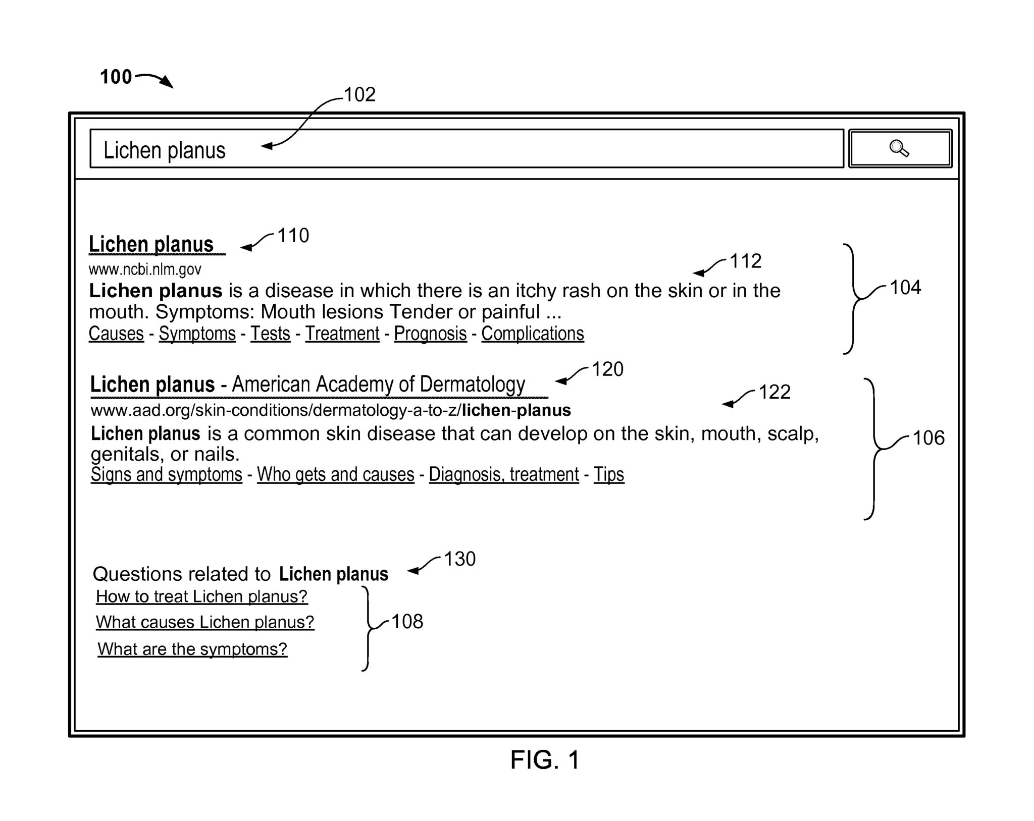 Google patent on generating related questions for search queries