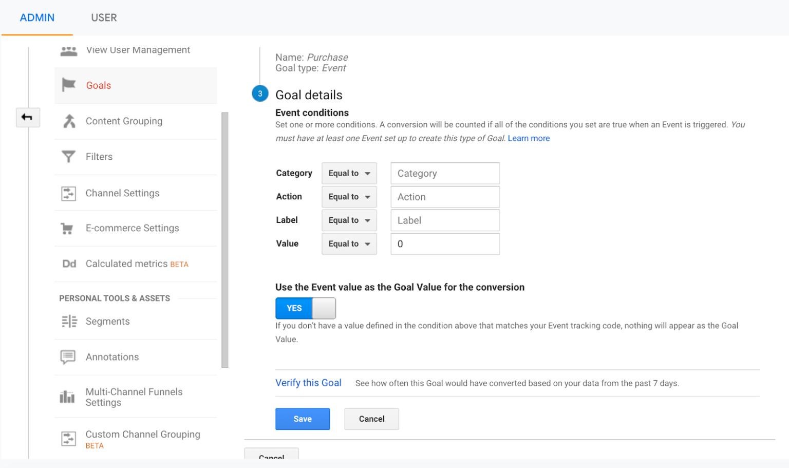 Google Analytics - Event tracking