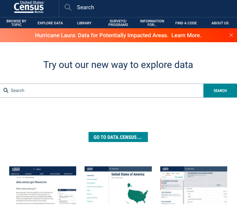 US data census