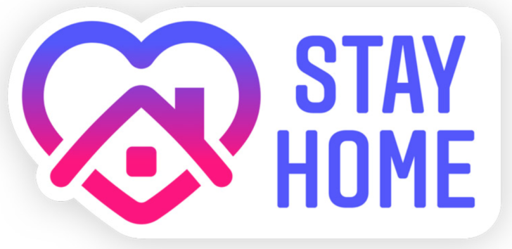 "Instagram's ""Stay home"" for COVID-19 awareness"