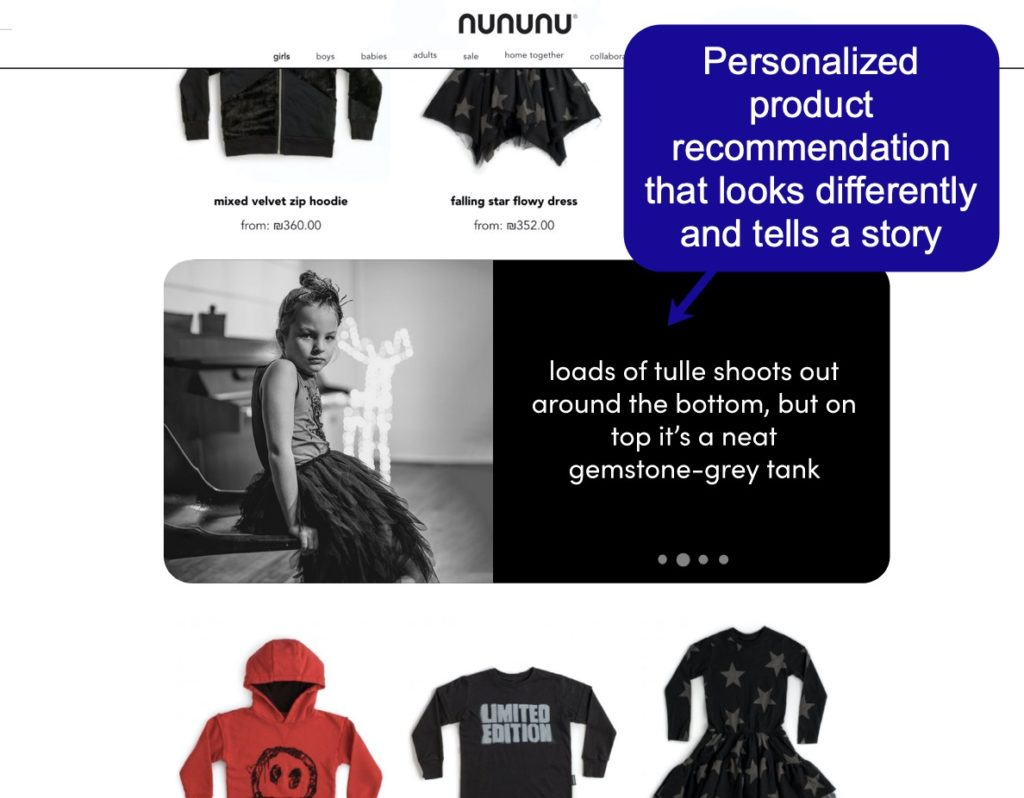 Ecommerce sales funnel optimization tips - Using search intent and AI to recommend products